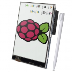 Kuman 3.5 Inch TFT LCD Display 480x320 RGB Pixels Touch Screen Monitor for Raspberry Pi 3 2 Model B B+ A+ A Module SPI Interface with Touch Pen SC06