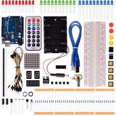 Kuman 2016 New Basic Starter Kit for Arduino Arduino UNO R3 Mega2560 Nano robot kits with R3 board K1