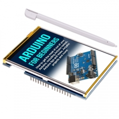 Kuman UNO R3 3.5 TFT Screen with SD Card Socket for Arduino MEGA 2560 Board Module #SC3A