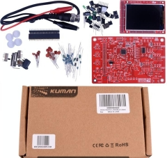 "Kuman DSO 138 DIY KIT Open Source 2.4"" TFT 1Msps Digital Oscilloscope Kit with DIY parts + Probe 13803K"