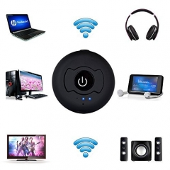 Kuman Wireless Bluetooth Transmitter,Support 2 Bluetooth Headphones Or Speakers Simultaneously for TV,Computer,MP3/MP4,iPod,iPhone,iPad,Tablets H-366T
